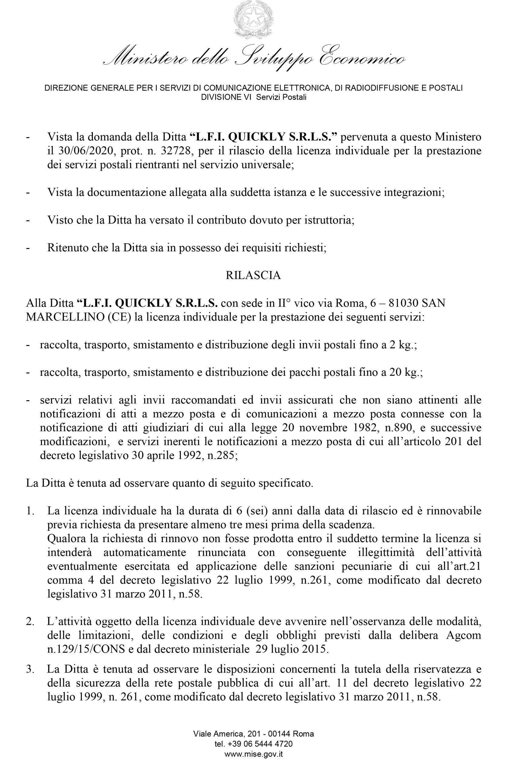 DGRSP/II/LIC/774/09/ZF